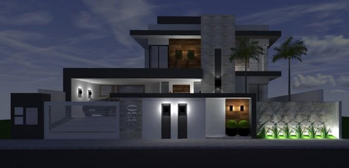 Formato d arquitetura for Modelos de casas minimalistas pequenas